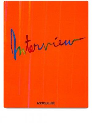 Книга Interview: 50 Years Assouline. Цвет: оранжевый