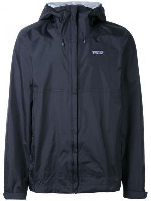Спортивная куртка Torrentshell Patagonia. Цвет: черный