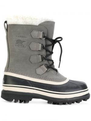Высокие ботинки Sorel. Цвет: чёрный