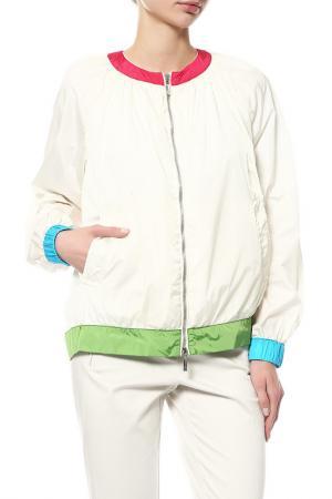 Куртка Moncler. Цвет: белый