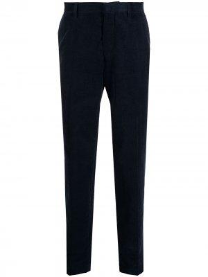 Вельветовые брюки Tiger of Sweden. Цвет: синий