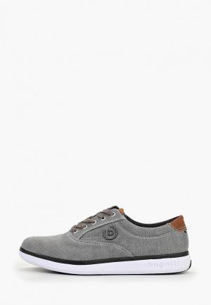 Ботинки Bugatti. Цвет: серый