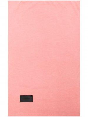 Наволочка Nude с нашивкой-логотипом Magniberg. Цвет: розовый