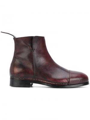 Ботинки с прошитым носком Measponte. Цвет: розовый и фиолетовый