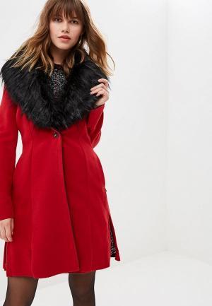 Пальто Met. Цвет: красный
