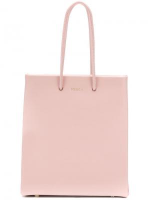Маленькая сумка-тоут Medea. Цвет: розовый