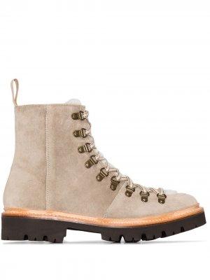 Ботинки Nanette на шнуровке Grenson. Цвет: нейтральные цвета