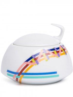 Чайник TAC Gropius Rhythm Rosenthal. Цвет: белый
