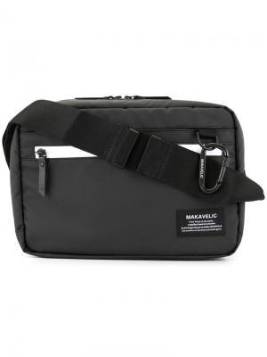 Практичная сумка на плечо Makavelic. Цвет: черный