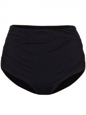 Плавки бикини Marine с завышенной талией Marysia. Цвет: черный