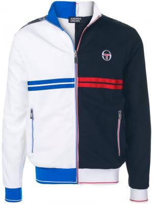 Two-tone zipped jacket Sergio Tacchini. Цвет: белый