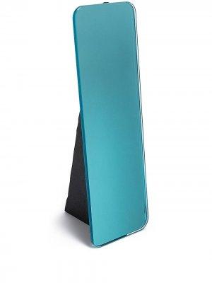 Прямоугольное зеркало Olivia Pulpo. Цвет: синий