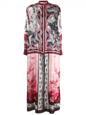 Длинное платье Galene F.R.S For Restless Sleepers. Цвет: розовый