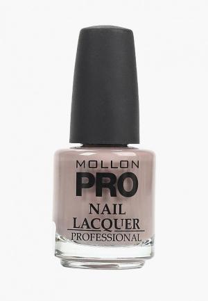 Лак для ногтей Mollon Pro. Цвет: бежевый