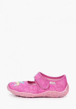 Туфли Superfit. Цвет: розовый