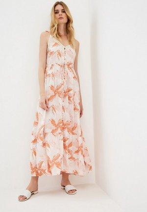 Платье Roxy. Цвет: оранжевый