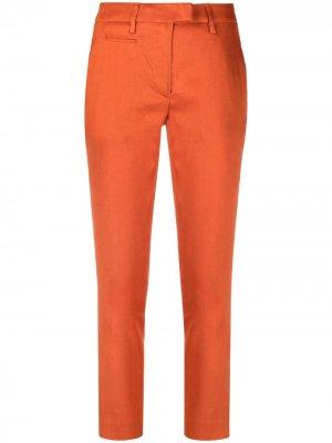 Укороченные брюки Dondup. Цвет: оранжевый