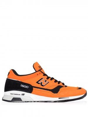 Кроссовки M1500 со вставками New Balance. Цвет: оранжевый