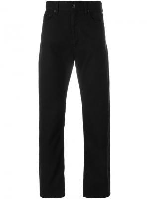 Прямые брюки Engineered Garments. Цвет: черный