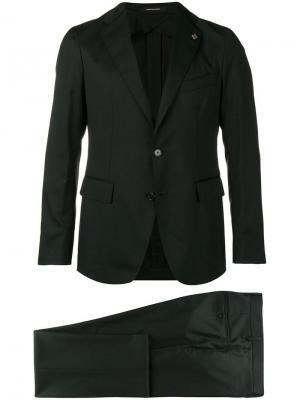 Строгий костюм Tagliatore. Цвет: черный