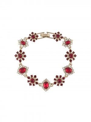 Браслет с кристаллами Marchesa Notte. Цвет: красный