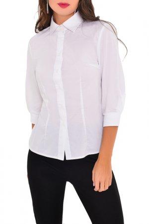 Блузка MONDIGO. Цвет: белый