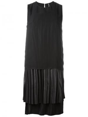 Платье Maki Minimarket. Цвет: черный