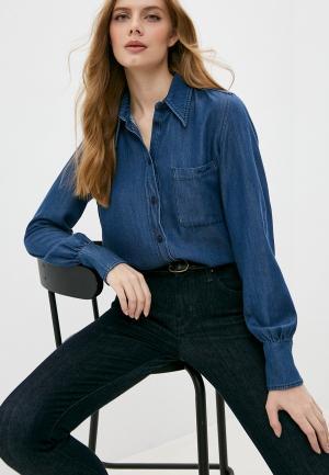 Рубашка джинсовая Jacob Cohen. Цвет: синий