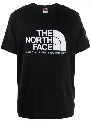 Футболка Fine Alpine II The North Face. Цвет: черный
