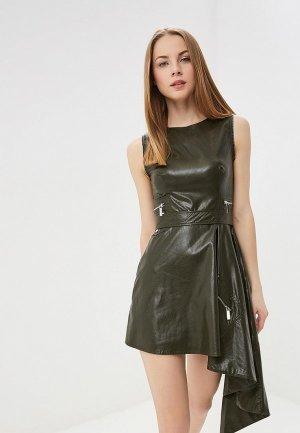 Платье Tutto Bene. Цвет: хаки