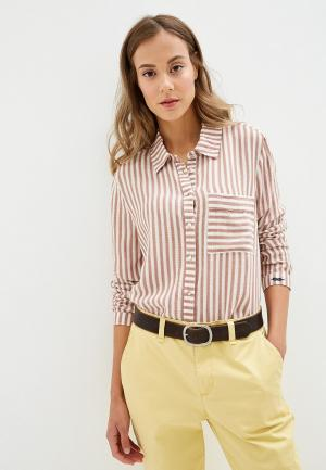 Рубашка Roxy. Цвет: коралловый