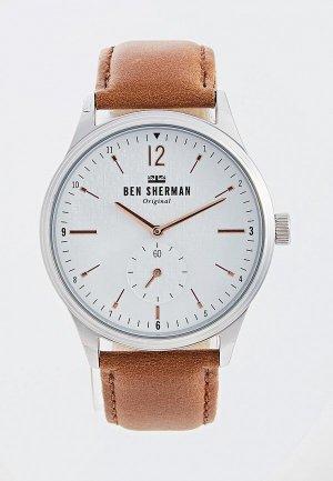 Часы Ben Sherman. Цвет: бежевый