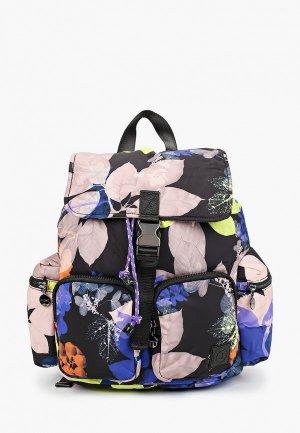 Рюкзак Desigual. Цвет: разноцветный