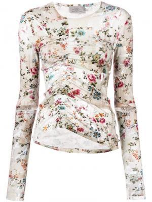 Marcia blouse Preen By Thornton Bregazzi. Цвет: нейтральные цвета