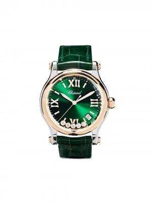 Наручные часы Happy Hearts 36 мм Chopard. Цвет: зеленый