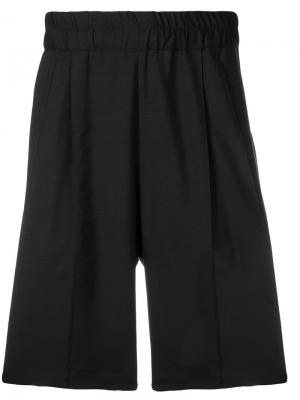 Классические спортивные шорты Kris Van Assche. Цвет: черный