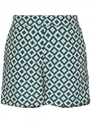 Плавки-шорты Pangra Classic Frescobol Carioca. Цвет: зеленый