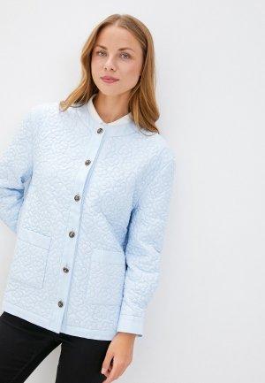 Куртка Sister Jane. Цвет: голубой