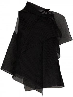 Блузка Pasha без рукавов Roland Mouret. Цвет: черный