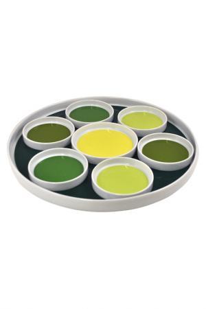 Набор для подачи вина KAHLA. Цвет: зеленый