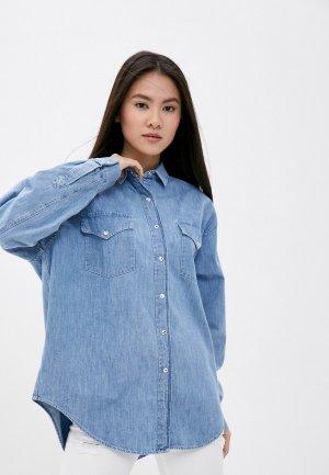 Рубашка джинсовая Iro. Цвет: голубой