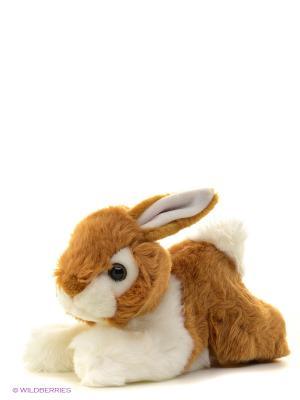 Игрушка мягкая Кролик коричневый 28 см AURORA. Цвет: коричневый