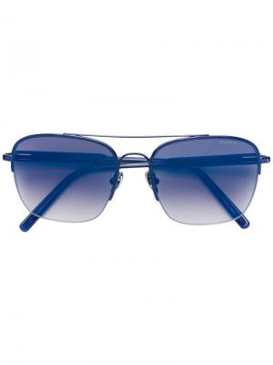 Square frame sunglasses Retrosuperfuture. Цвет: синий
