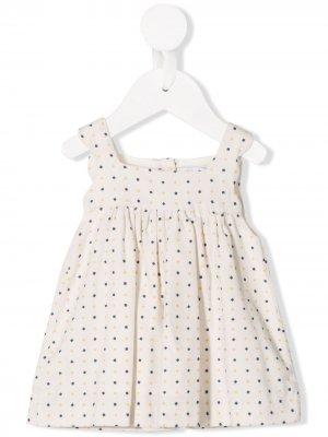 Платье-сарафан Gravity Knot. Цвет: белый