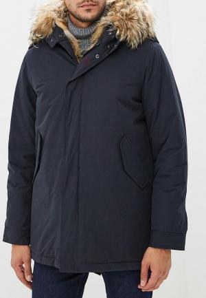 Куртка утепленная Canadian. Цвет: черный