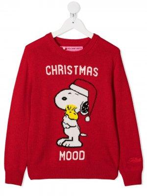 Джемпер Snoopy Mc2 Saint Barth Kids. Цвет: красный