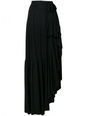 Длинная юбка Iggy Chiara Boni La Petite Robe. Цвет: черный