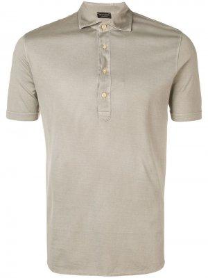 Delloglio рубашка-поло кроя слим Dell'oglio. Цвет: серый