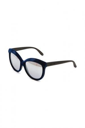 Очки солнцезащитные с линзами ITALIA INDEPENDENT. Цвет: 022 cng синий
