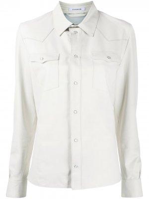 Рубашка в стиле вестерн P.A.R.O.S.H.. Цвет: белый